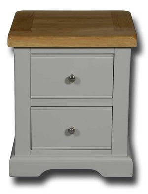 Oxford Painted 2 Drawer Bedside