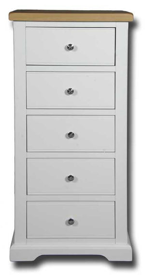 Oxford Painted 5 Drawer Wellington