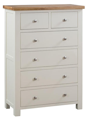 Bicester Painted 2 Over 4 Chest | A Touch of Furniture Oxfordshire