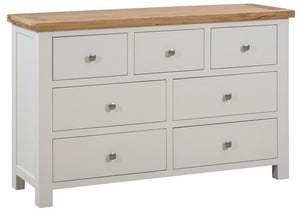Bicester Painted 3 Over 4 Chest