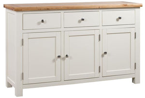 Bicester Painted 3 Door Sideboard | A Touch of Furniture Oxfordshire