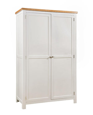 Bicester Painted Double Full Hanging Wardrobe | A Touch of Furniture