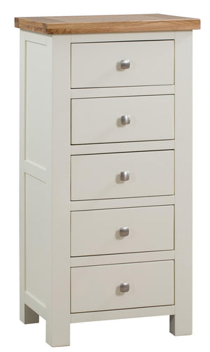 Bicester Painted 5 Drawer Tall Chest | A Touch of Furniture Oxfordshire