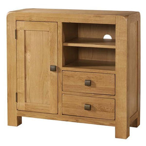Avon Oak Narrow Sideboard / Media Unit | A Touch of Furniture Bicester