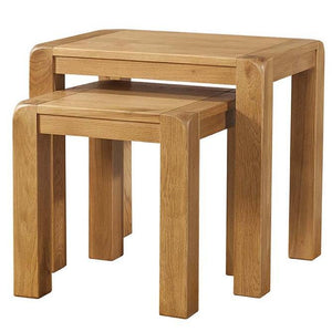 Avon Oak Nest of Coffee Tables | A Touch of Furniture Banbury & Bicester