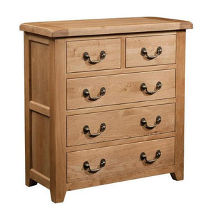 Somerset Oak 3 + 2 Chest