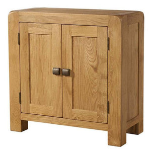 Avon Oak Small Storage Cabinet With 2 Doors |  A Touch of Furniture