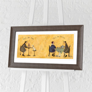 Tea for Two Tea for Three by Sam Toft | Framed Print