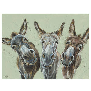 Wise Asses by Louise Brown | Framed Print