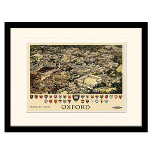 Oxford University Coats of Arms | Framed Print