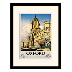 Oxford Tom Tower by Ernest Coffin | Framed Print
