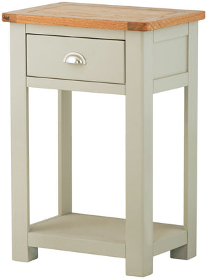 Cherwell Painted 1 Drawer Console Table | A Touch of Furniture Oxfordshire