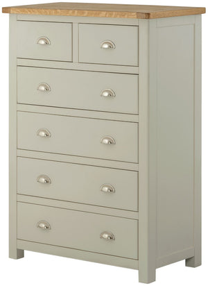 Cherwell Painted 2+4 Chest | A Touch of Furniture Oxfordshire