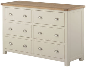 Cherwell Painted 6 Drawer Chest | A Touch of Furniture Oxfordshire