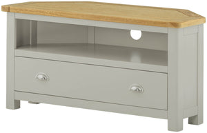 Cherwell Painted 2 Drawer Corner TV Unit | A Touch of Furniture