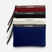 Introducing Kat Faith Neo Classic Wristlet Pouches - Women's Wallets