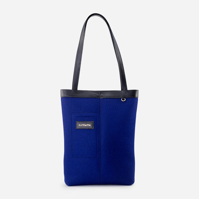 Rhea Blue Tote - Kat Faith