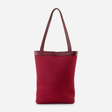 Load image into Gallery viewer, Rhea Burgundy Tote - Kat Faith