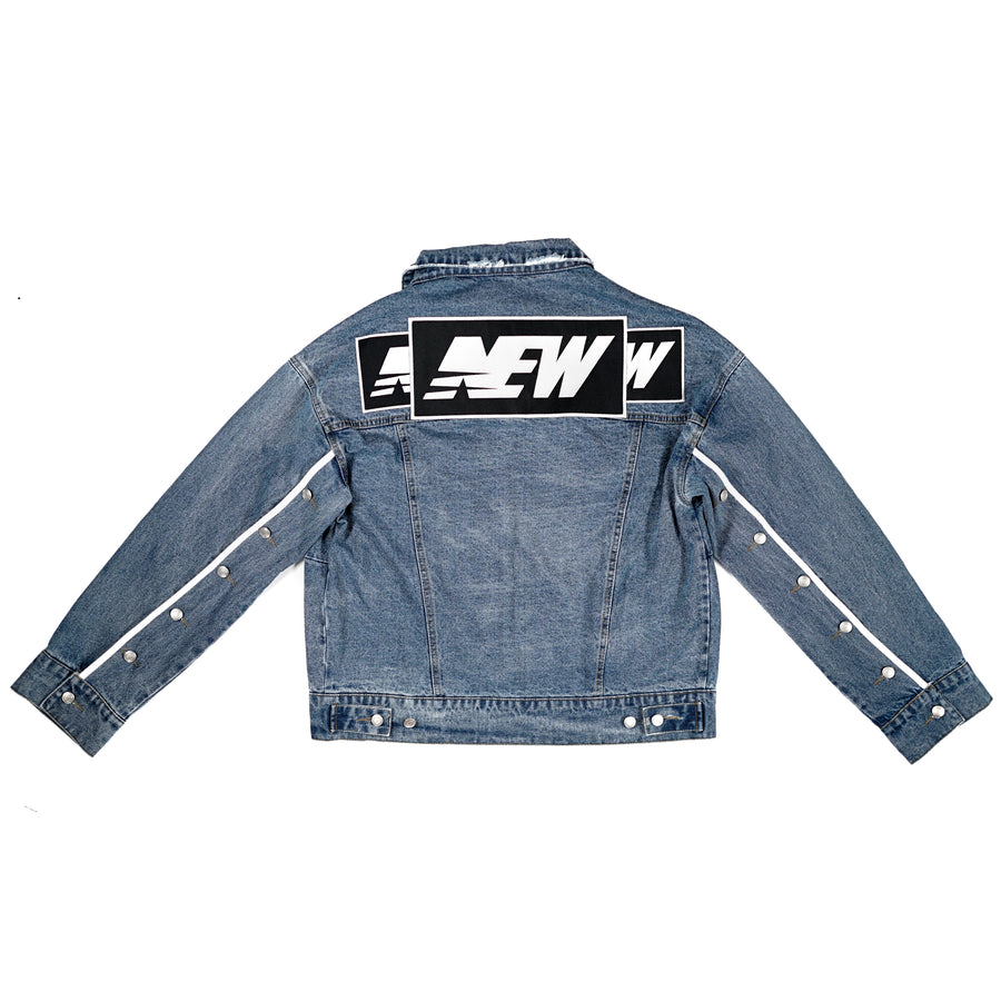 Denim Breakaway Jacket