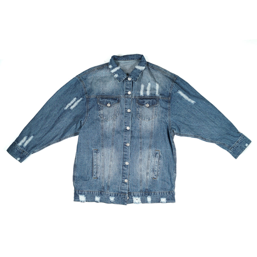 NSO RAW Denim Long Jacket