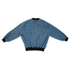 Woven Side Stripe Denim Jacket