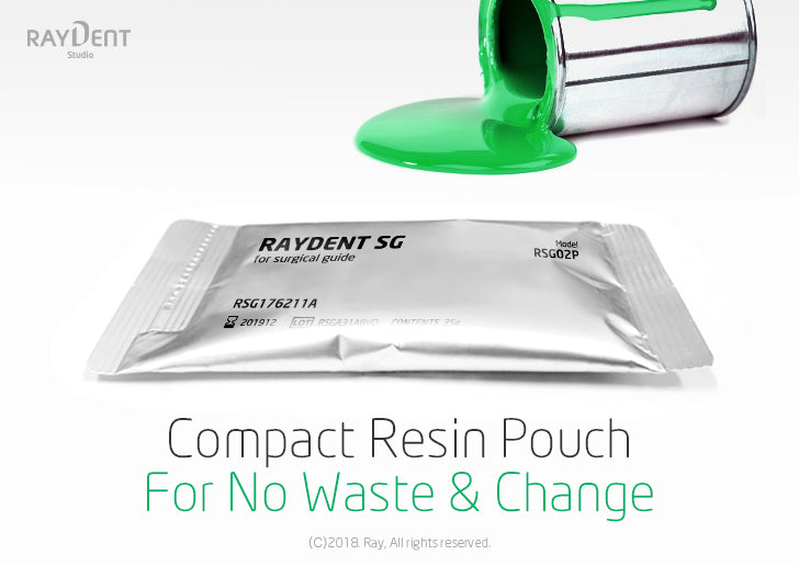 Compact Resin Pouch