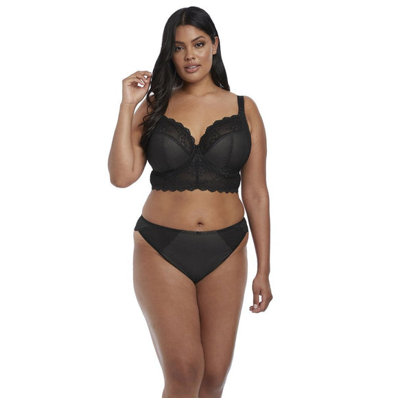 Elomi Charley Brazilian - Black-Bras Galore - Lingerie and Swimwear Specialist