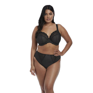 Elomi Charley High Leg Brief - Black-Bras Galore - Lingerie and Swimwear Specialist