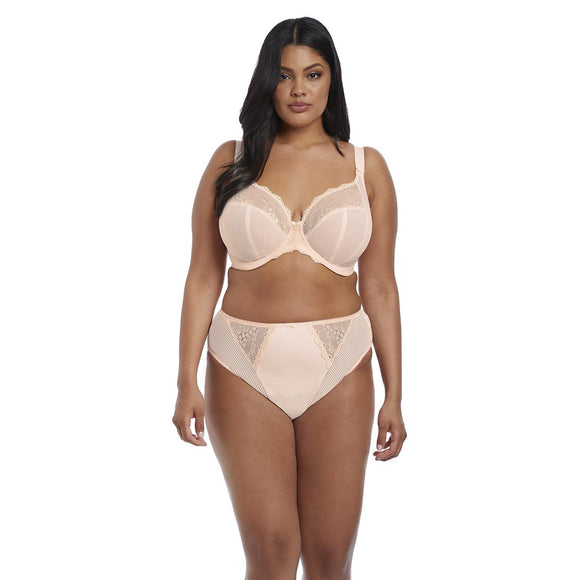 Elomi Charley Plunge Bra - Ballet Pink-Bras Galore - Lingerie and Swimwear Specialist