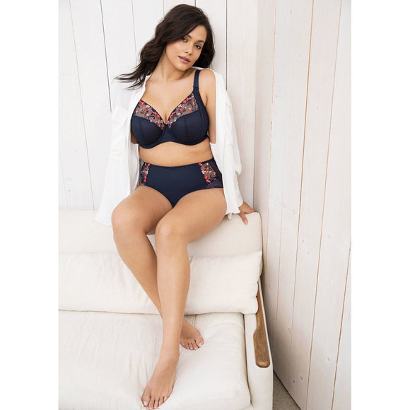 Elomi Charley Plunge Bra - Navy-Bras Galore - Lingerie and Swimwear Specialist