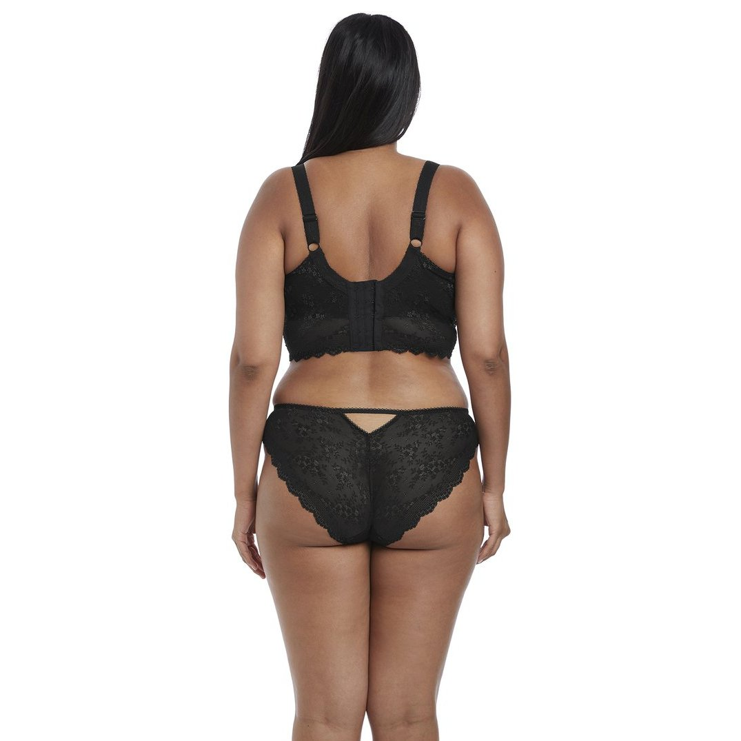 d81e9f07d802d9 ... Elomi Charley Underwired Bralette - Black-Bras Galore - Lingerie and  Swimwear Specialist ...