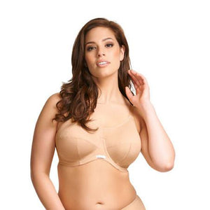 Elomi Energise Underwired Sports Bra - Nude-Bras Galore - Lingerie and Swimwear Specialist