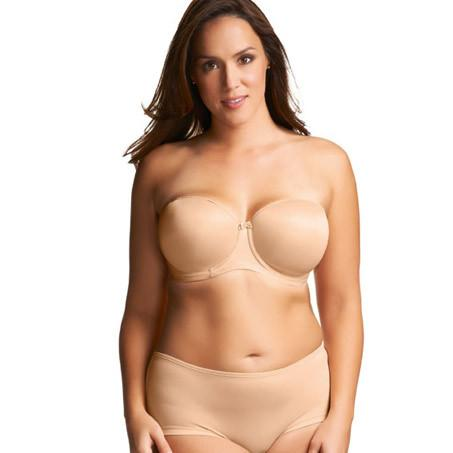 Elomi Smoothing Foam Moulded Strapless Bra - Nude