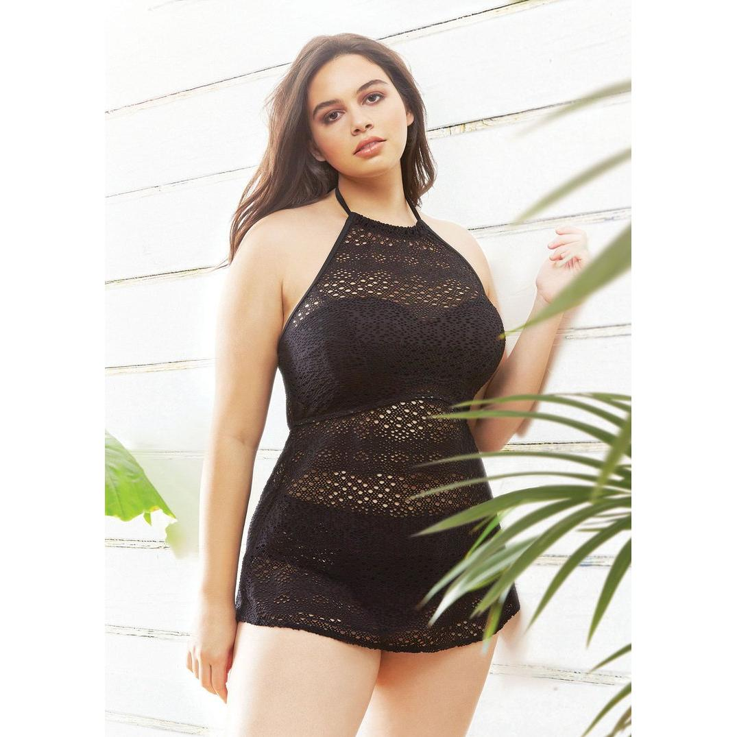 856a1a6a1a ... Elomi Swim Indie High Neck Tankini / Cover Up-Bras Galore - Lingerie  and Swimwear