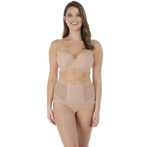 Fantasie Ana High Waisted Brief - Natural Nude-Bras Galore - Lingerie and Swimwear Specialist