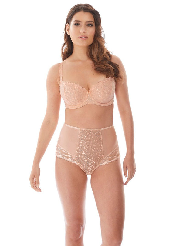 Fantasie Ana Padded Half Cup Bra - Blush-Bras Galore - Lingerie and Swimwear Specialist