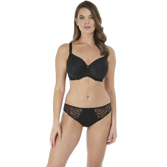 Fantasie Ana Rebecca Moulded Bra - Black-Bras Galore - Lingerie and Swimwear Specialist
