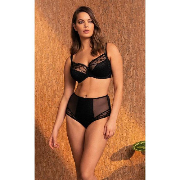 Fantasie Ana Side Support Bra - Black-Bras Galore - Lingerie and Swimwear Specialist