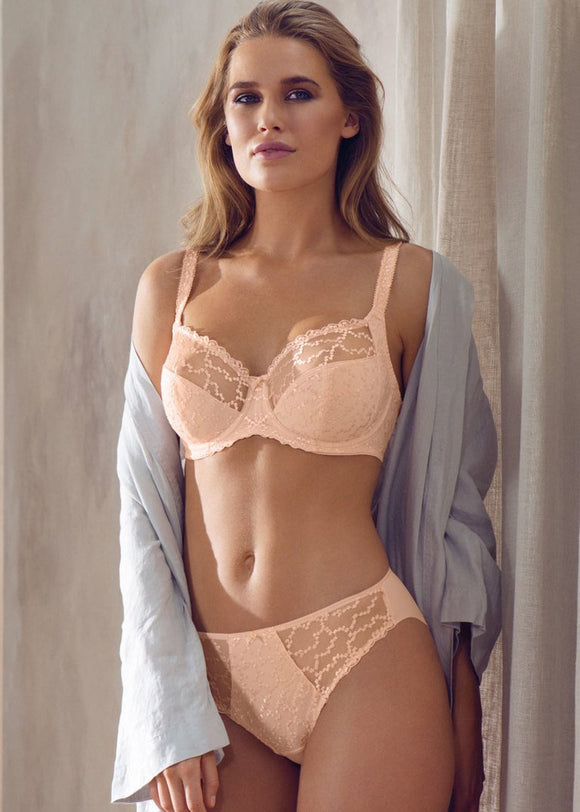 Fantasie Ana Side Support Bra - Blush-Bras Galore - Lingerie and Swimwear Specialist