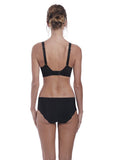 Fantasie Anoushka Classic Brief & High Waisted Brief - Black-Bras Galore - Lingerie and Swimwear Specialist