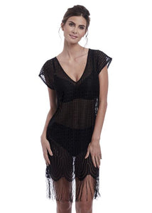 Fantasie Antheia Tunic - Black-Bras Galore - Lingerie and Swimwear Specialist