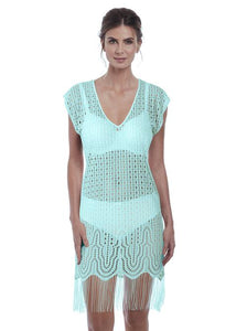 Fantasie Antheia Tunic - Iced Aqua-Bras Galore - Lingerie and Swimwear Specialist