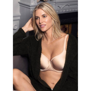 Fantasie Aura Smoothing Moulded T-Shirt Bra - Nude-Bras Galore - Lingerie and Swimwear Specialist