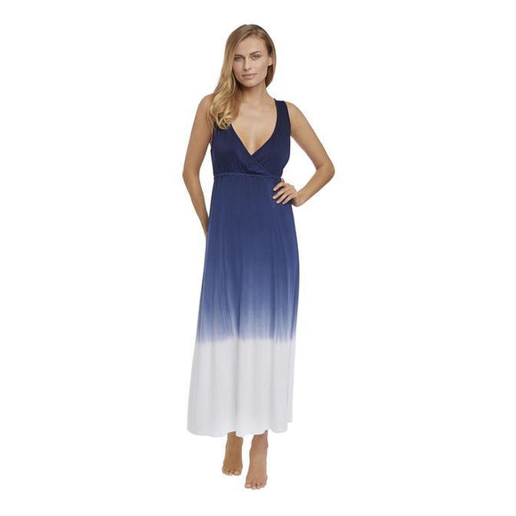 Fantasie Aurora Ombre Maxi Dress - Blue-Bras Galore - Lingerie and Swimwear Specialist