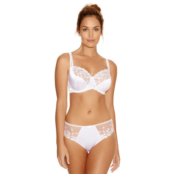 Fantasie Belle Brief - Black & White-Bras Galore - Lingerie and Swimwear Specialist