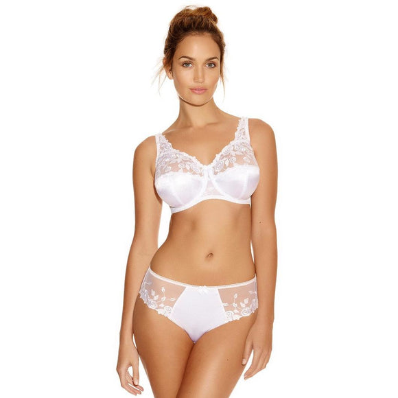 Fantasie Belle Full Cup Bra - White-Bras Galore - Lingerie and Swimwear Specialist