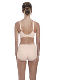 Fantasie Fusion Classic Brief & High Waisted Brief - Blush-Bras Galore - Lingerie and Swimwear Specialist