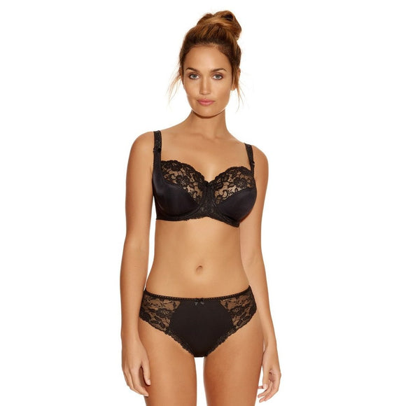 Fantasie Helena Balcony Bra - Black-Bras Galore - Lingerie and Swimwear Specialist