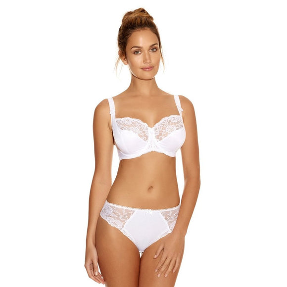 Fantasie Helena Balcony Bra - White-Bras Galore - Lingerie and Swimwear Specialist