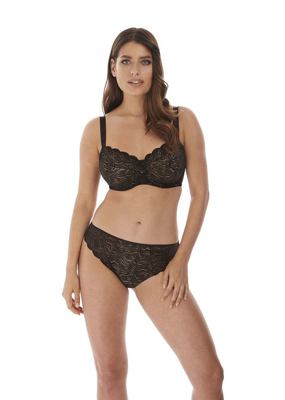 Fantasie Impression Average Coverage Bra - Black-Bras Galore - Lingerie and Swimwear Specialist